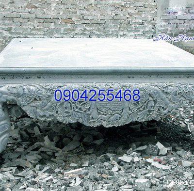 Sập đá khối thiết kế tinh xảo chất lượng cao giá tốt