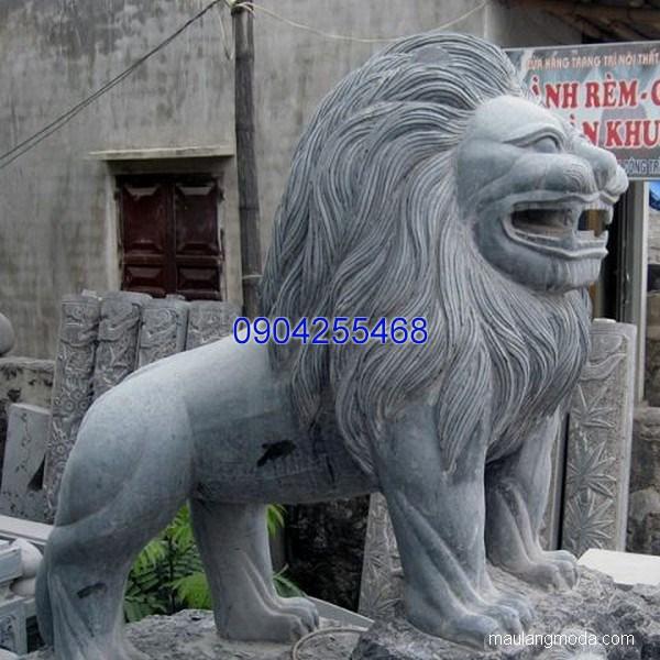 Sư tử đá phong thủy đẹp chất lượng tốt giá tốt