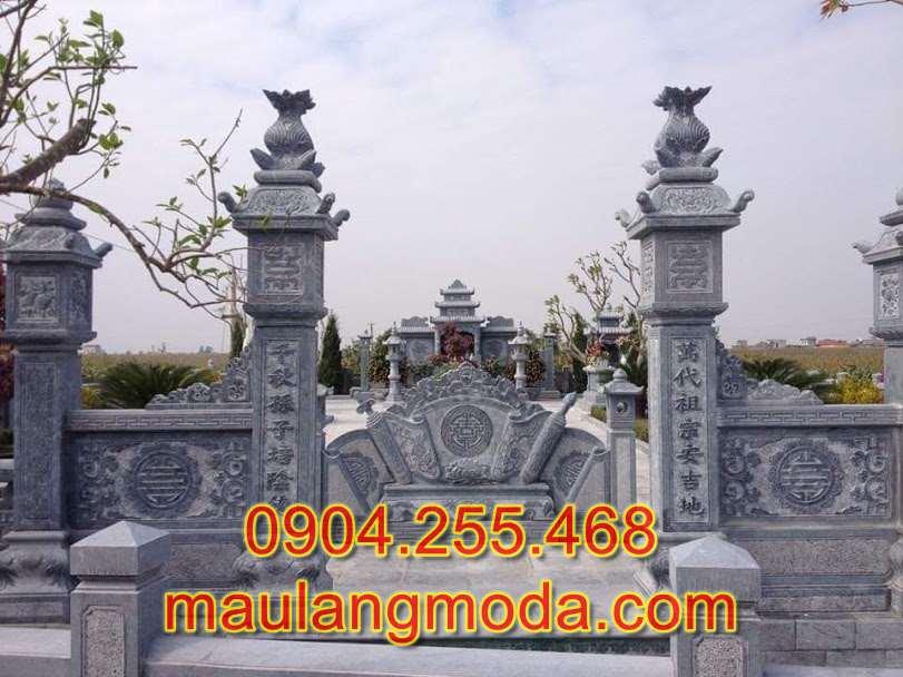 Địa chỉ bán và xây lăng mộ đá giá rẻ tại An Giang