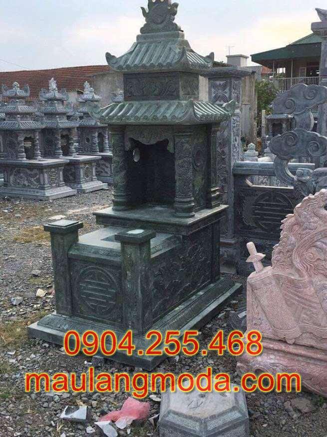 Làm mộ bằng đá xanh rêu tại Bến Tre,làm lăng mộ đá tại Bến Tre, làm mộ đá tháp tại Bến Tre, làm mộ đá công giáo tại Bến Tre