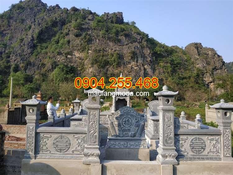 ,Cách chọn kích thước xây mộ cải táng hợp phong thủy,Lăng mộ đá cho gia đình dòng họ, lăng mộ đá đẹp