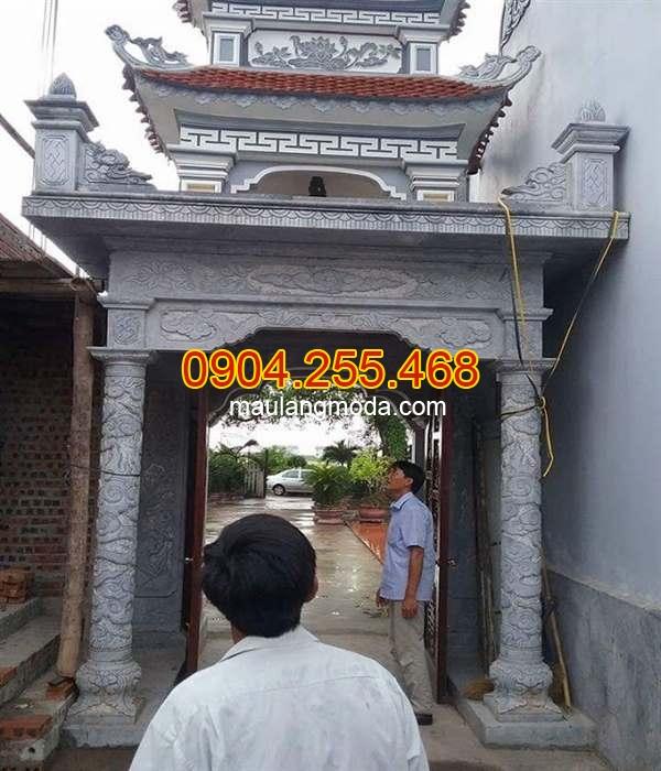 Cổng chùa bằng đá đẹp, mẫu cổng chùa đẹp, mẫu cổng chùa bằng đá