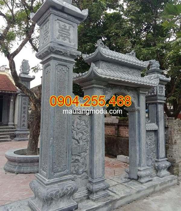 Cổng đá chùa đẹp nhất hiện nay, mẫu cổng chùa đẹp