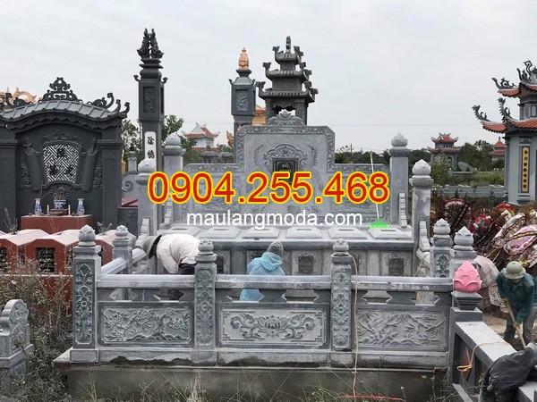 Lan can đá đẹp tại Ninh Bình, mẫu lan can đá đẹp khu lăng mộ