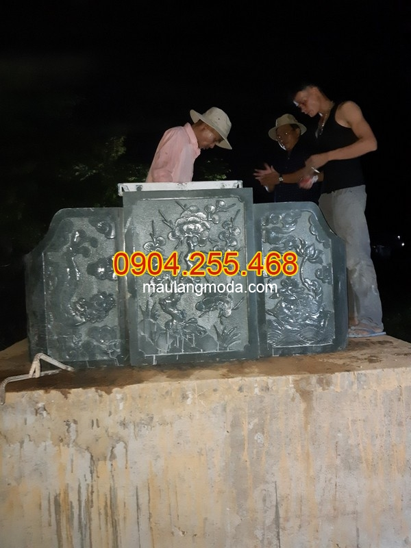 Lắp đặt mộ đá tại Củ Chi,Lắp đặt mộ đôi đẹp bằng đá xanh rêu tại Củ Chi Thành phố Hồ Chí Minh 02, lắp đặt lăng mộ đá tại Củ Chi, làm mộ đá tại Củ Chi
