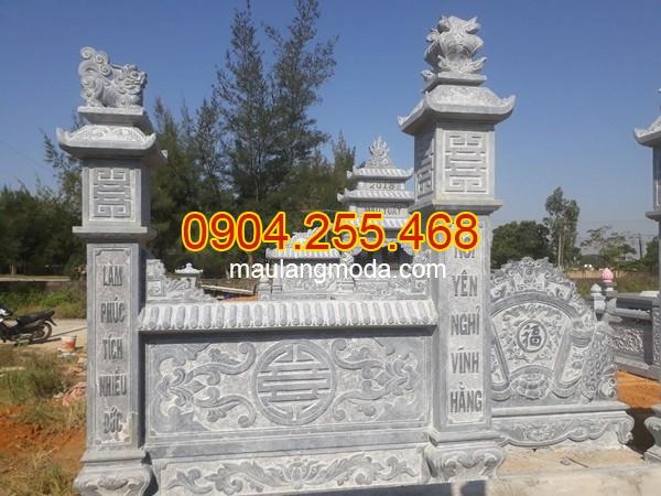 Mẫu câu đối hay trên bia mộ
