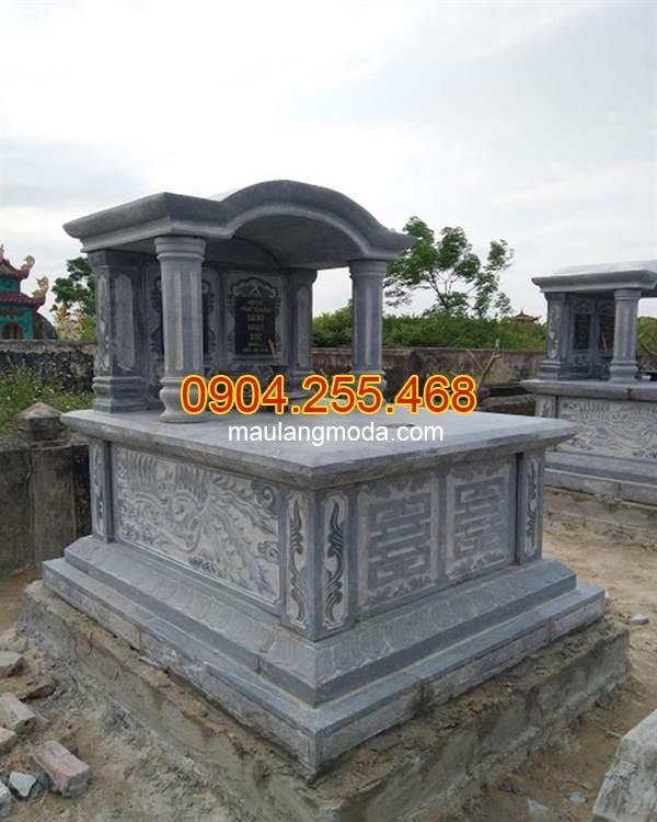 Mẫu mộ có mái đao, mộ có mái, mộ một mái , mộ mái vòm