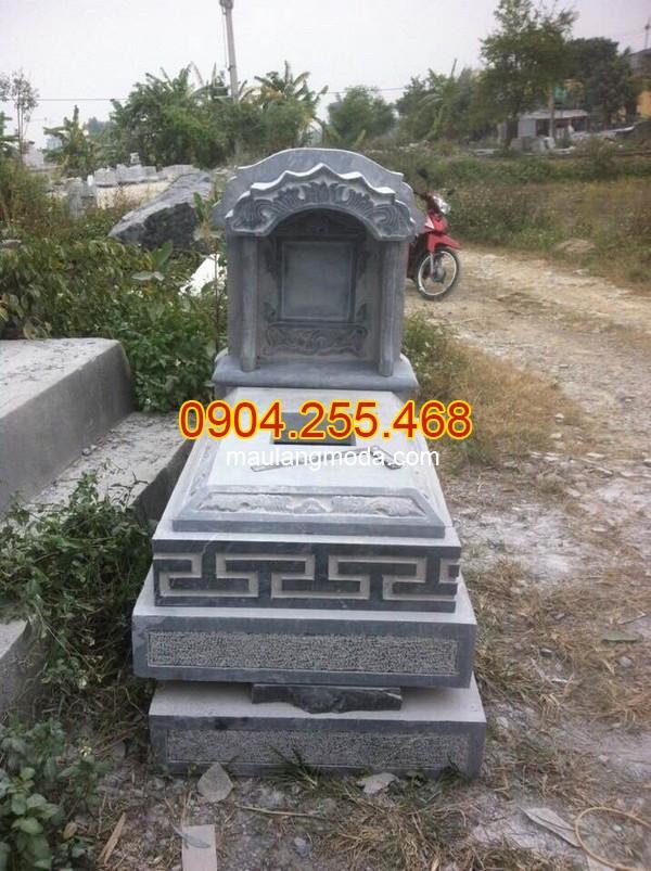 Mẫu mộ đá đẹp đơn giản chuẩn phong thủy, mẫu mộ đá đơn giản, Mẫu mộ đá đẹp