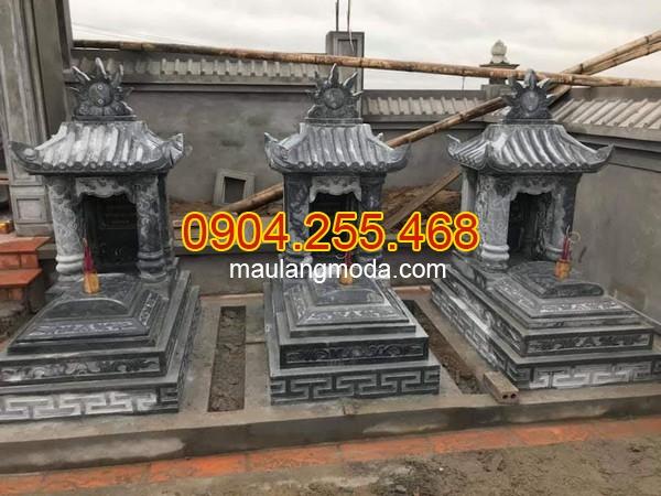 Mộ có mái đẹp tại Ninh Bình, mẫu mộ có mái