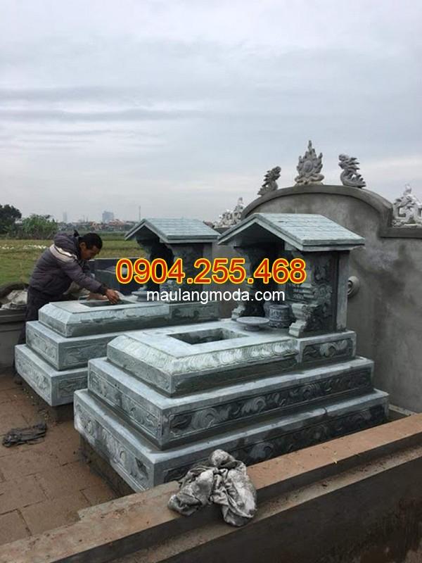 Top 95 mẫu mộ đá một mái đẹp giá rẻ tại Ninh Bình 01