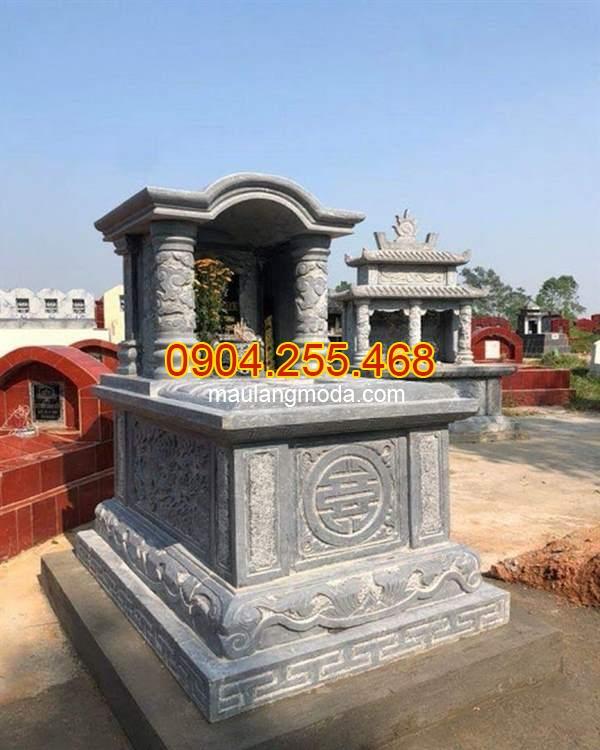 Mộ đá một mái đẹp, Top 95 mẫu mộ đá một mái đẹp giá rẻ tại Ninh Bình 05