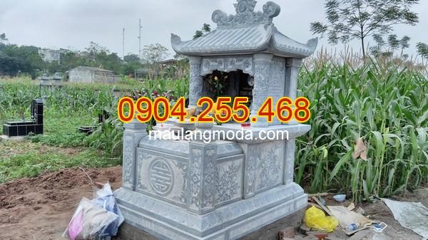 Top 95 mẫu mộ đá một mái đẹp đơn giản tại Ninh Bình, mẫu mộ đơn giản