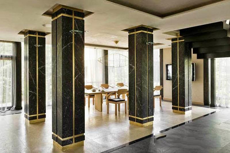 Một vài ý tưởng thiết kế, trang trí mẫu cột nhà vuông đẹp xuất sắc
