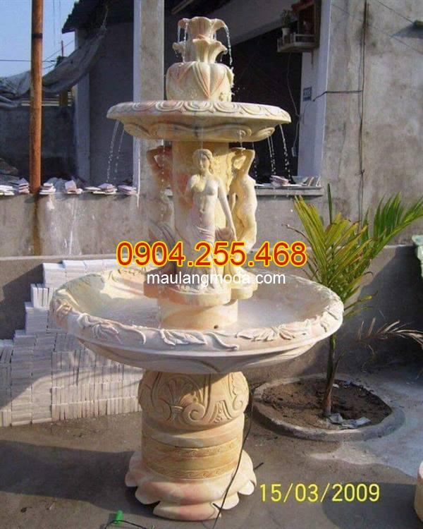 Báo giá đài phun nước, Giá đài phun nước, giá đài phun nước bằng đá , Chiêm ngưỡng những mẫu đài phun nước đẹp độc đáo nhất hiện nay 05