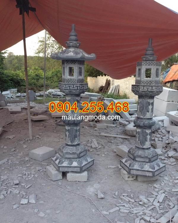 Đèn đá trang trí, Mẫu đèn đá trang trí, Đèn đá trang trí khu biệt thự, Kích thước đèn đá