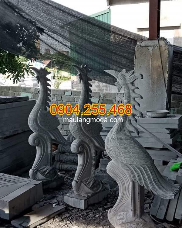 Hạc đá đẹp tại Ninh Bình, Tượng hạc đá, mẫu hạc đá đẹp , Những mẫu tượng hạc đá phong thủy đẹp nhất tại Ninh Bình 04