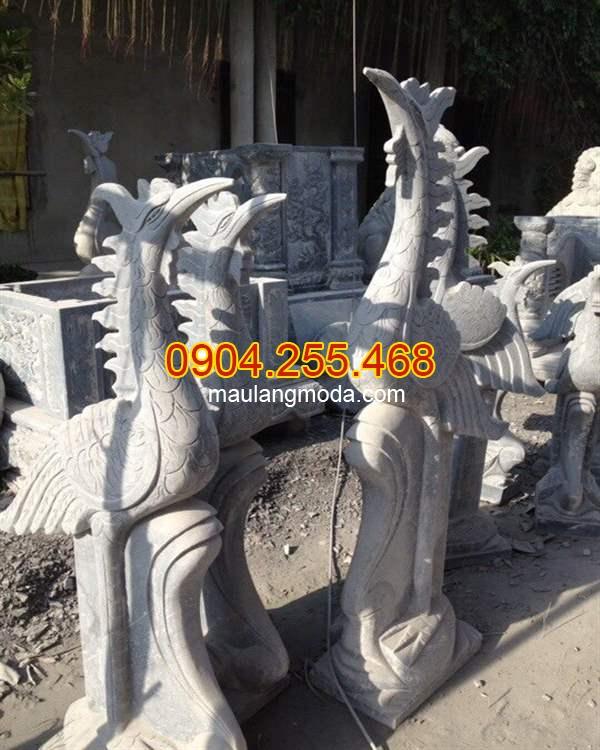Hạc thờ bằng đá, Mẫu hạc thờ đá, Những mẫu tượng hạc đá phong thủy đẹp nhất tại Ninh Bình 05,Địa chỉ bán hạc thờ bằng đá, ý nghĩa hạc thờ đá