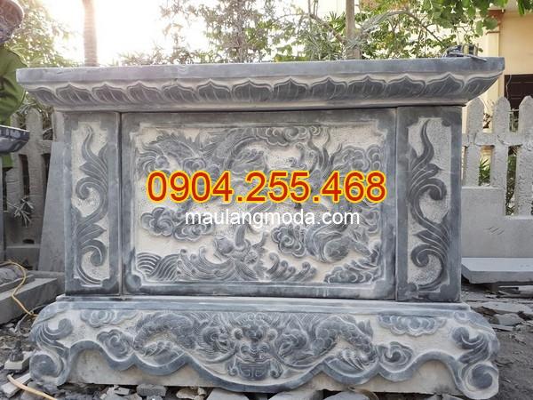 Mẫu bàn lễ đá ngoài trời, bàn lễ đá, kích thước bàn lễ đá, mẫu bàn lễ đá