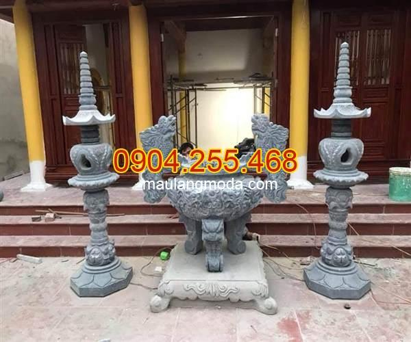 Mẫu đèn thờ bằng đá đẹp, kích thước đèn thờ đá, mẫu đèn thờ, đèn thờ bằng đá