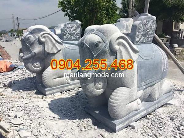 Mẫu voi bằng đá đẹp giá rẻ, Mẫu voi đá đẹp , Tượng voi đá phong thủy trong văn hóa người Việt 04