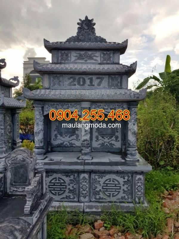 Mộ đá đôi nguyên khối đẹp thiết kế cao cấp chất lượng cao giá rẻ