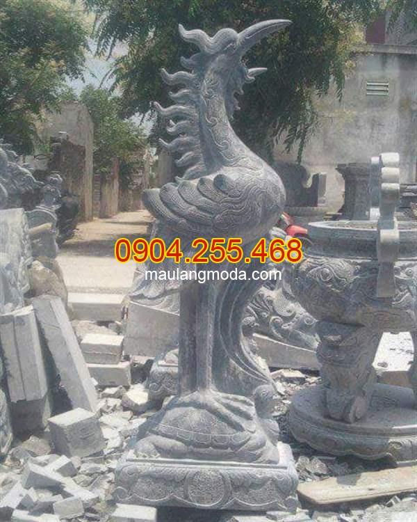 Ý nghĩa của hạc đá trong thờ cúng, Những mẫu tượng hạc đá phong thủy đẹp nhất tại Ninh Bình 03, Hạc thờ đá đẹp, Mẫu hạc thờ đá đẹp