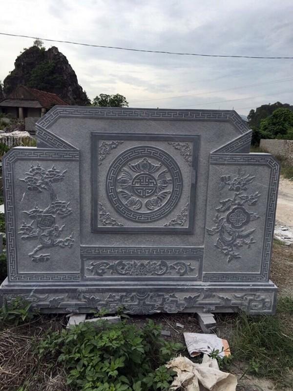 Cuốn thư đá xanh - Ưu điểm, thông tin, giá bán bình phong đá Ninh Bình