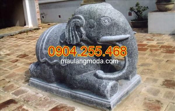 Mẫu tượng voi bằng đá tự nhiên, Tượng voi đá phong thủy trong văn hóa người Việt 06, tượng voi đá giá rẻ, mẫu voi đá tự nhiên, Voi đá đẹp tự nhiên nguyên khối