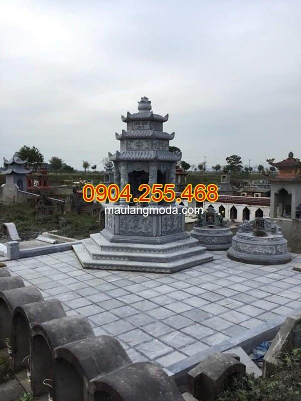 Hình ảnh mộ đá phật giáo, mộ tháp đá đẹp nhất hiện nay