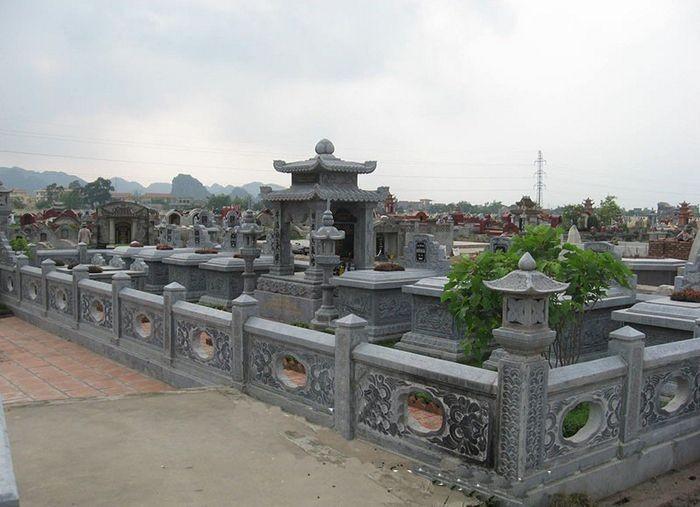 Mộ tổ đá xanh - Thông tin, giá bán mộ tổ đá xanh Ninh Bình