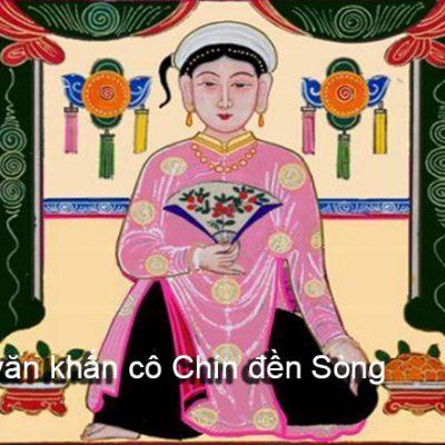 Cách chuẩn bị lễ vật và bài văn khấn cô Chín đền Sòng Sơn, Thanh Hóa
