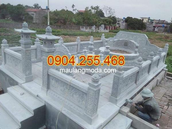Địa chỉ nhận lắp đặt xây lăng mộ đá ở Ninh Bình uy tín