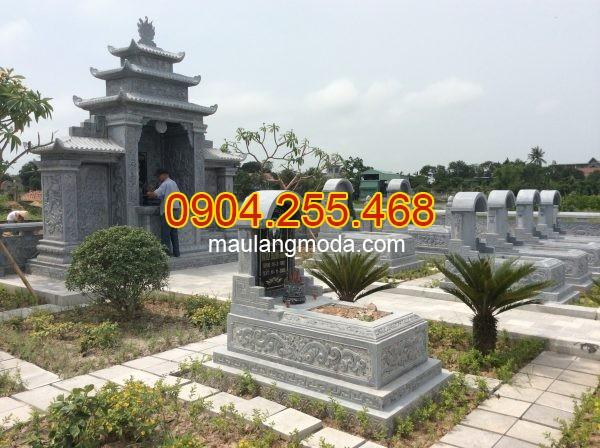 Ảnh mộ vòm đá, mộ đá mộ đao đẹp được sản xuất tại doanh nghiệp đá mỹ nghệ Hà An