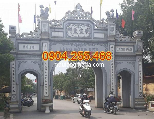Cổng đá Bình Định - Địa chỉ bán xây cổng tam quan đá tại Bình Định uy tín