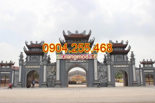 Cổng đá Bắc Giang - Địa chỉ bán xây cổng tam quan đá tại Bắc Giang