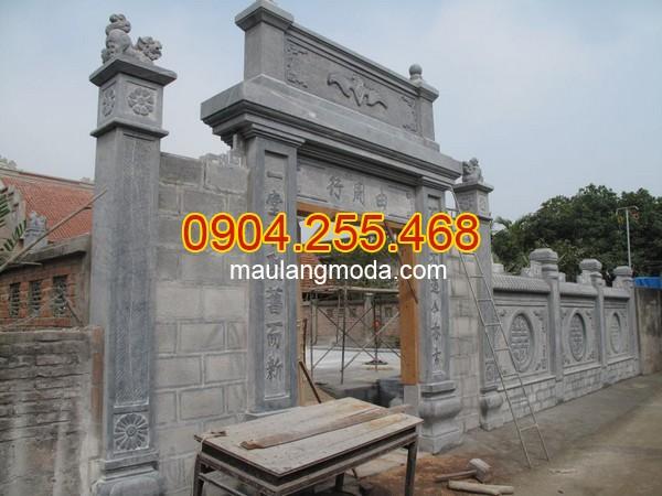 Cổng đá Cà Mau - Địa chỉ bán xây cổng tam quan đá tại Cà Mau