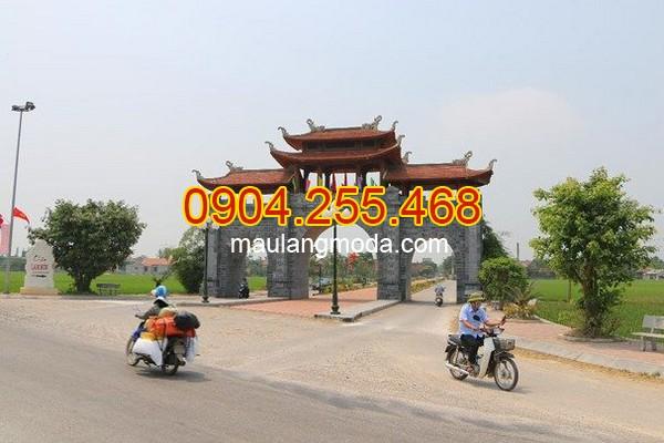 Cổng đá Hưng Yên - Địa chỉ bán xây cổng tam quan đá tại Hưng Yên