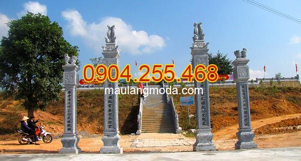 Cổng đá Nghệ An - Địa chỉ bán xây cổng tam quan đá tại Nghệ An