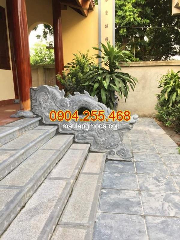 Cột đá, chân cột đá, lan can đá, bậc thềm đá tại Bắc Ninh