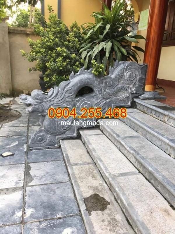 Cột đá, chân cột đá, lan can đá, bậc thềm đá tại Nam Định
