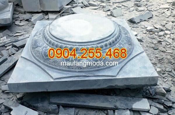 Cột đá, chân cột đá, lan can đá, bậc thềm đá tại Nghệ An