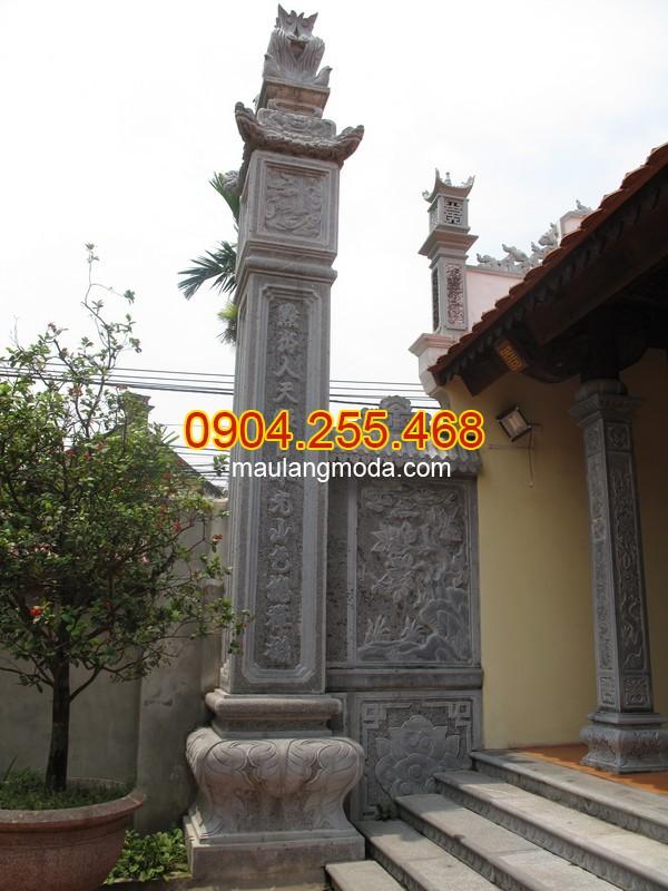 Giá cột đá nhà thờ họ Ninh Bình | Thi công, bán cột đồng trụ đá Ninh Bình