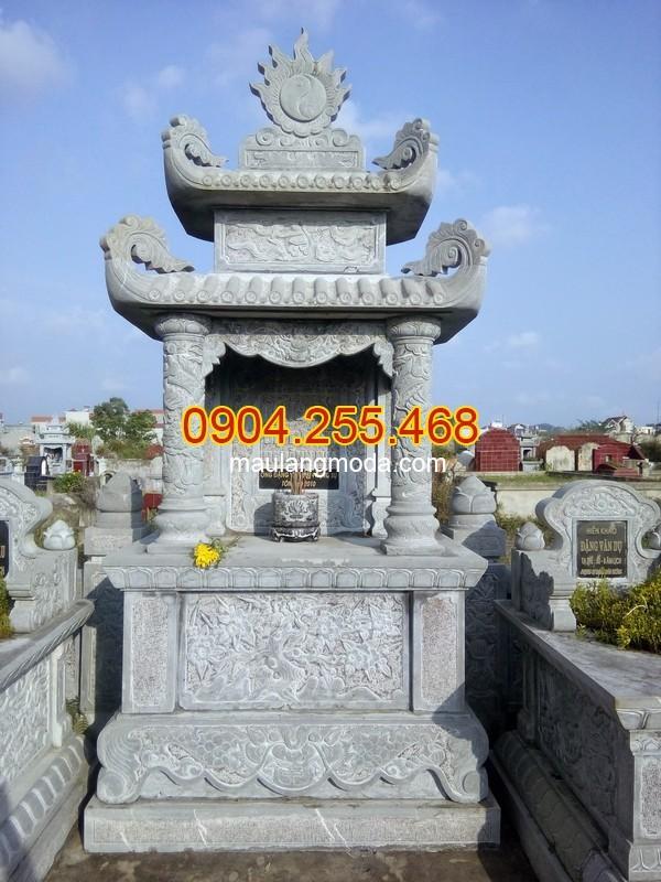Mộ đá đẹp tại Đắk Nông - Nhận thi công lắp đặt xây mộ đá tại Đắk Nông
