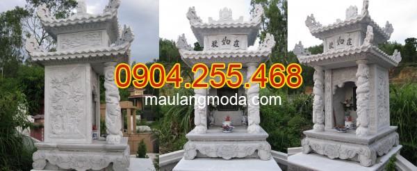 Mộ đá đẹp tại Điện Biên - Nhận thi công lắp đặt xây mộ đá tại Điện Biên