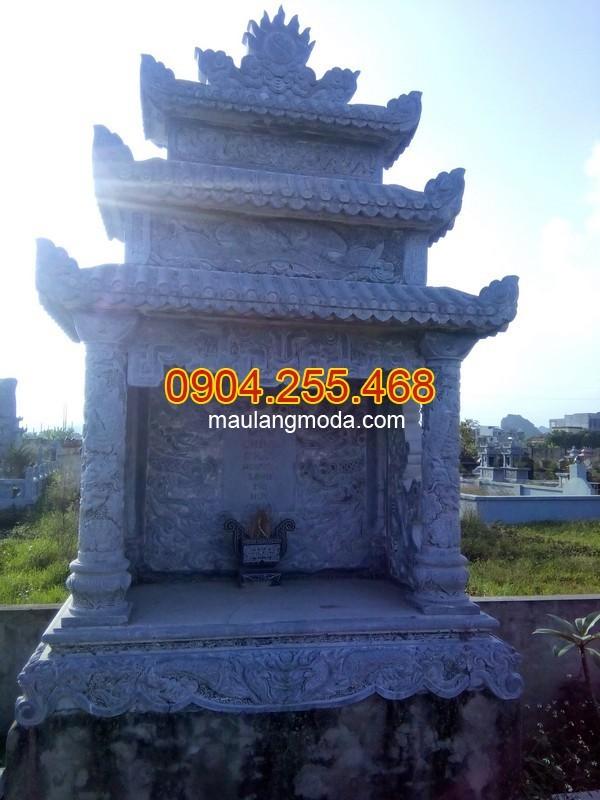 Mộ đá Khánh Hòa - Địa chỉ lắp đặt xây mộ đá tại Khánh Hòa uy tín