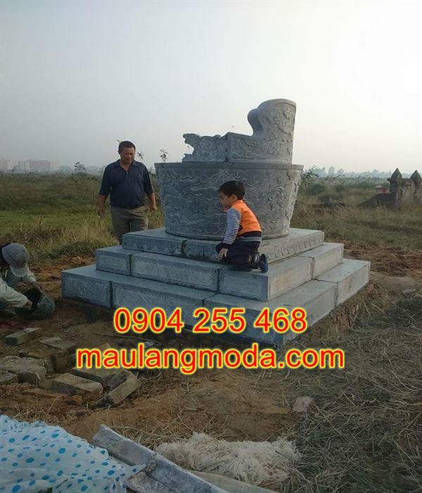 Mẫu mộ đá tròn đẹp giá rẻ,Top 30 mẫu mộ đá hình tròn đẹp giá rẻ kích thước chuẩn phong thủy