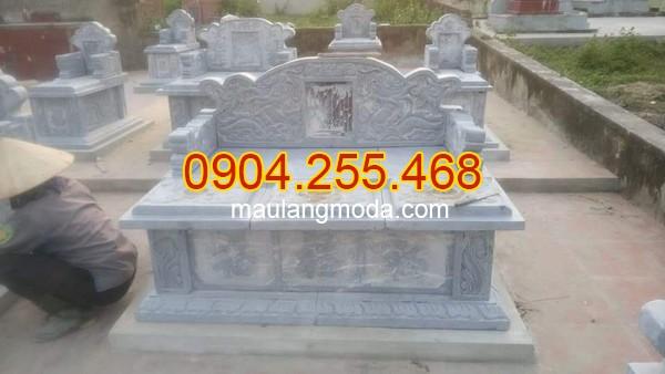 Nhận thi công lắp đặt xây lăng mộ đá tại An Giang