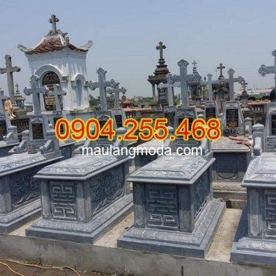 Nhận thi công lắp đặt xây mộ đá ở Bắc Ninh