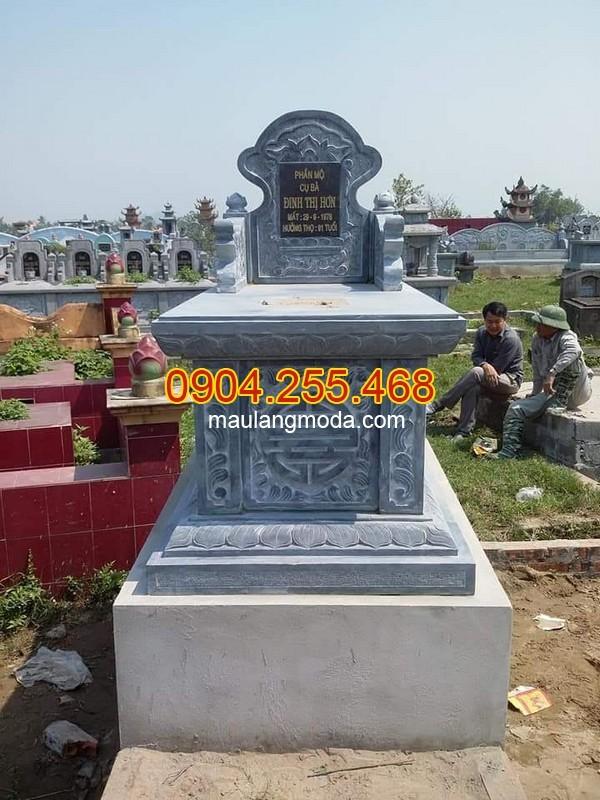 Nhận thi công lắp đặt xây mộ đá tại Hà Nội uy tín chất lượng
