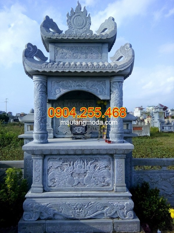 Thi công xây lăng mộ đá tại Thái Bình uy tín và chất lượng